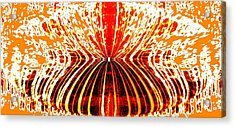 Orange Zest Acrylic Print