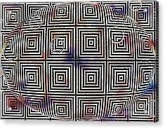 Acrylic Print featuring the digital art Orb by Cynthia Lagoudakis