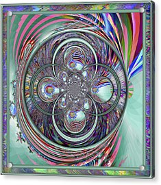 Orb-fuscation Acrylic Print by Wendy J St Christopher
