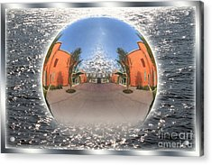 Orb On The Water Acrylic Print