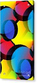 Orbit Acrylic Print by Chris Butler