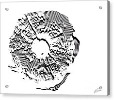 Acrylic Print featuring the photograph Orbits by Jessie Parker