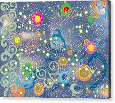 Acrylic Print featuring the photograph Orbs by Kim Prowse