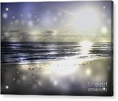 Orbs Of Healing Acrylic Print by Jeffery Fagan
