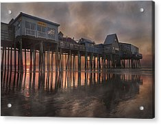 Orchard Beach Glorious Morning Acrylic Print by Betsy Knapp