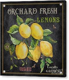 Orchard Fresh Lemons-jp2679 Acrylic Print