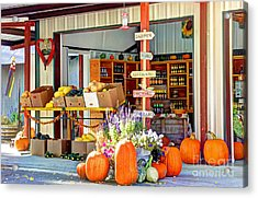 Orchard Valley Market Acrylic Print