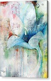 Orchid Fields IIi - D1 Acrylic Print by Vivian Mora