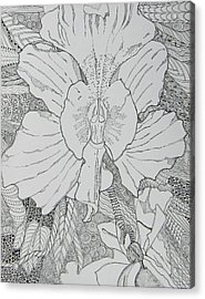 Orchid In Disguise Acrylic Print