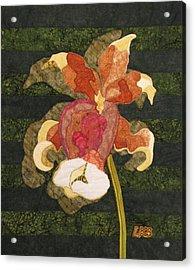 Orchids #1 Acrylic Print by Lynda K Boardman