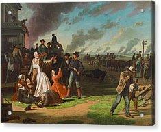 Order No. 11, 1865-70 Oil On Canvas Acrylic Print by George Caleb Bingham