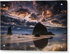 Oregon Coastal Sunset Acrylic Print