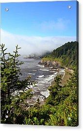 Oregon Coastline Acrylic Print
