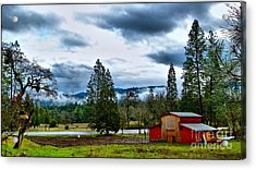 Oregon Farm Blessing Acrylic Print