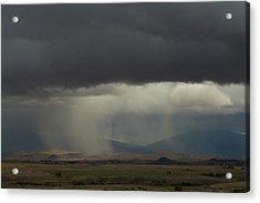 Oregon Rain Acrylic Print