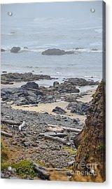 Oregon Rocks Acrylic Print by Shauna Fackler