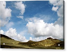Oregon Trail Country Acrylic Print by Ed  Riche
