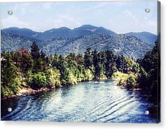 Oregon Views Acrylic Print by Melanie Lankford Photography