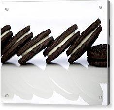 Oreo Cookies Acrylic Print by Juli Scalzi