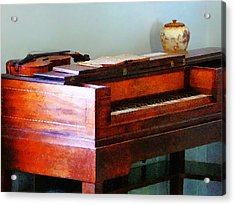 Organ And Violin Acrylic Print