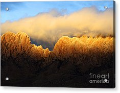 Organ Mountains Symphony Of Light Acrylic Print by Bob Christopher