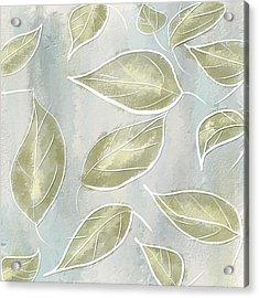 Organic Feel Acrylic Print by Lourry Legarde