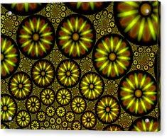 Organic Green Acrylic Print