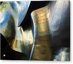 Organic Metal #3 Acrylic Print by David Reams