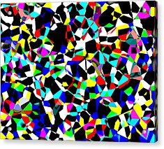 Organized Chaos Acrylic Print