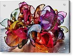 Organza Petals Acrylic Print