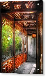 Orient - Continue On Acrylic Print by Mike Savad