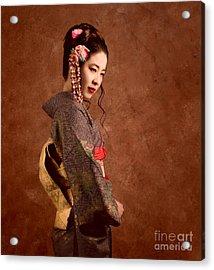 Oriental Beauty Acrylic Print