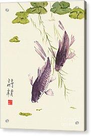 Oriental Koi IIi Acrylic Print