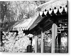 Acrylic Print featuring the photograph Oriental Roof #2 by George Mount