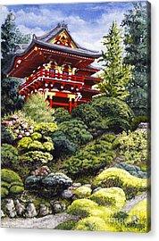 Oriental Treasure Acrylic Print