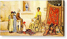 Orientalisme Acrylic Print by Celestial Images