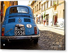 Original Fiat Acrylic Print by Arthur Hofer