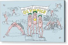 Original Olympics Acrylic Print