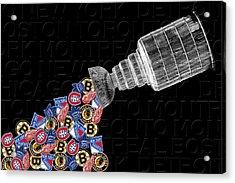 Original Six Stanley Cup 2 Acrylic Print