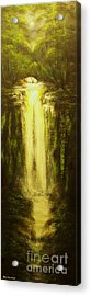 High Falls-original Sold-buy Giclee Print Nr 37 Of Limited Edition Of 40 Prints   Acrylic Print