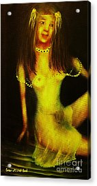 Night Reflection-original Sold- Buy Giclee Print Nr 28 Of Limited Edition Of 40 Prints   Acrylic Print