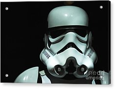 Original Stormtrooper Acrylic Print by Micah May