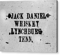 Original Whiskey Acrylic Print by JAMART Photography