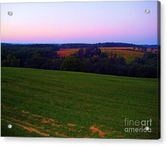 Original Woodstock Concert Site - Back To The Garden Acrylic Print