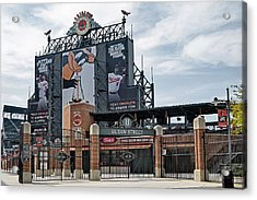 Oriole Park At Camden Yards Acrylic Print by Susan Candelario