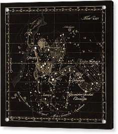Orion Constellations, 1829 Acrylic Print by Science Photo Library