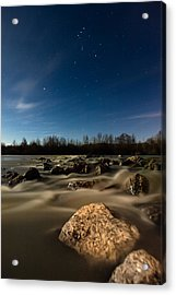 Orion Acrylic Print by Davorin Mance
