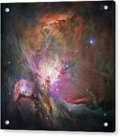 Space Hollywood 2 - Orion Nebula Acrylic Print by Marianna Mills