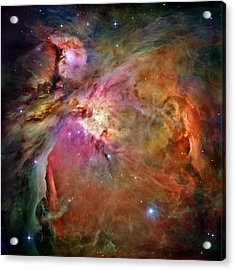 Orion Nebula Acrylic Print by Benjamin Yeager