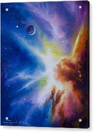 Orion Nebula Acrylic Print by James Christopher Hill